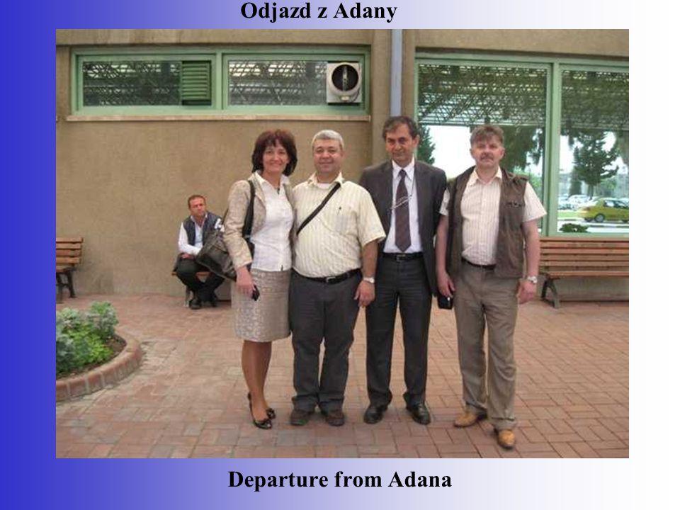 Departure from Adana Odjazd z Adany