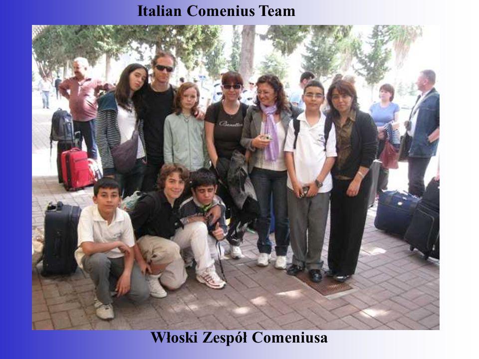 Włoski Zespół Comeniusa Italian Comenius Team
