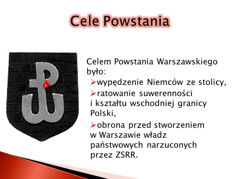 Powstanie Warszawskie 1944 roku było wystąpieniem zbrojnym przeciwko wojskom niemieckim okupującym stolicę, zorganizowanym przez Armię Krajową.