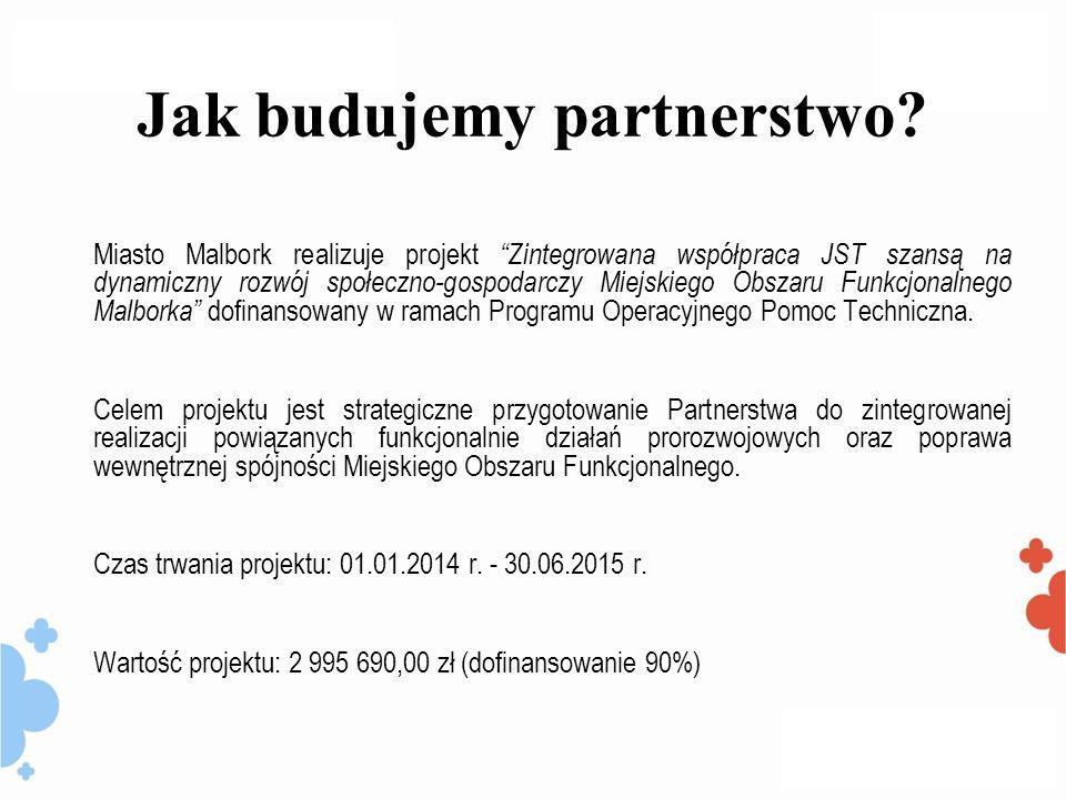 Jak budujemy partnerstwo.