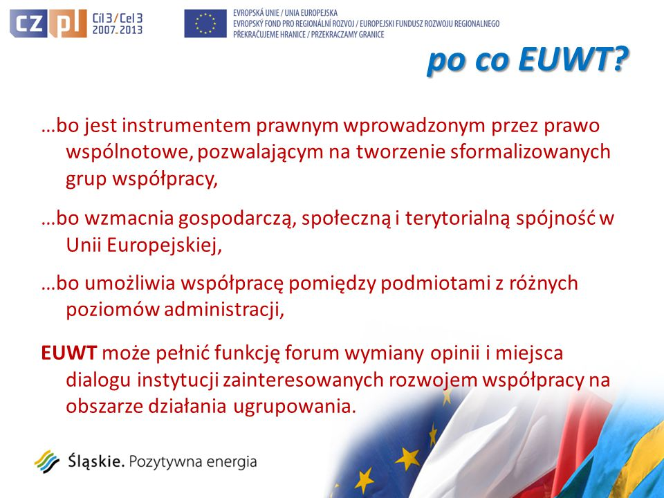 po co EUWT. po co EUWT.