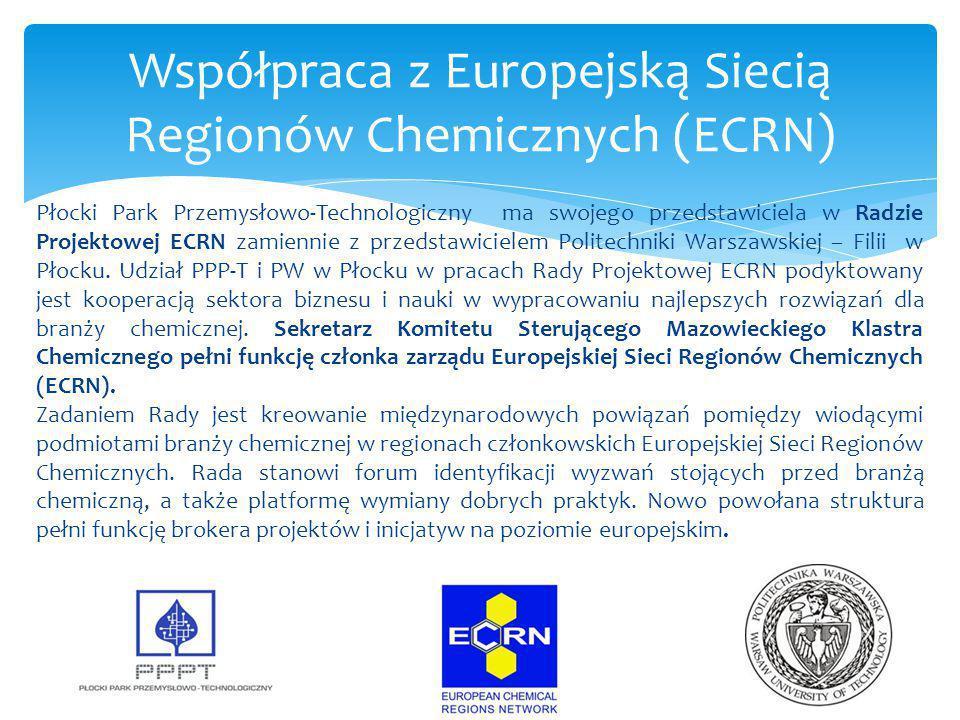 Płocki Park Przemysłowo-Technologiczny ma swojego przedstawiciela w Radzie Projektowej ECRN zamiennie z przedstawicielem Politechniki Warszawskiej – F