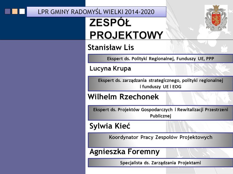 LPR Miasta Bochnia na lata 2014-2020 Ekspert ds.Polityki Regionalnej, Funduszy UE, PPP Ekspert ds.
