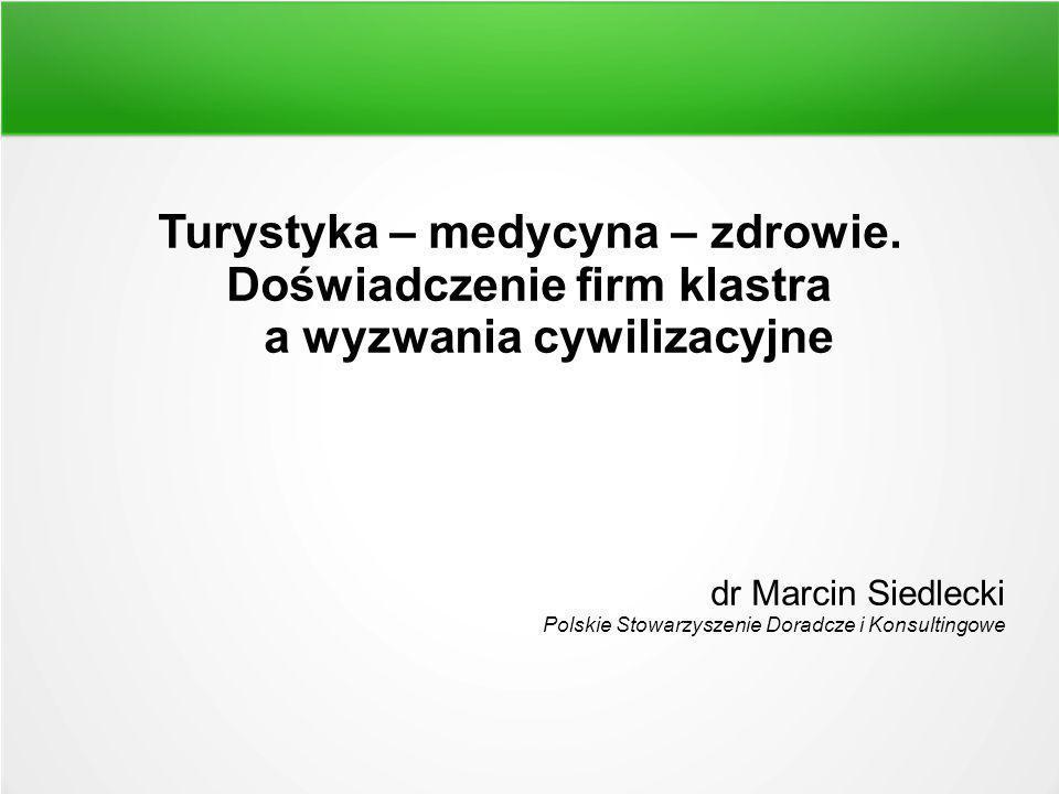 """Idea Projekt zakłada wypracowanie sieci powiązań produktowo-usługowych w segmencie usług turystyczno-zdrowotnych na obszarze Polski Wschodniej, specjalizację działalności zdrowotnej, wykreowanie markowego produktu turystyki zdrowotnej """"Z naturą po zdrowie i rozwijanie wzajemnej współpracy w oparciu o komplementarną ofertę usług turystyczno-zdrowotnych kilkunastu podmiotów skupionych w Klastrze Marek Turystycznych Polski Wschodniej działających w obszarze turystyki zdrowotnej, ale także związanych z branżą medyczną, turystyczną oraz reprezentujących jednostki naukowe i władze gmin i miast o statusie uzdrowiska."""