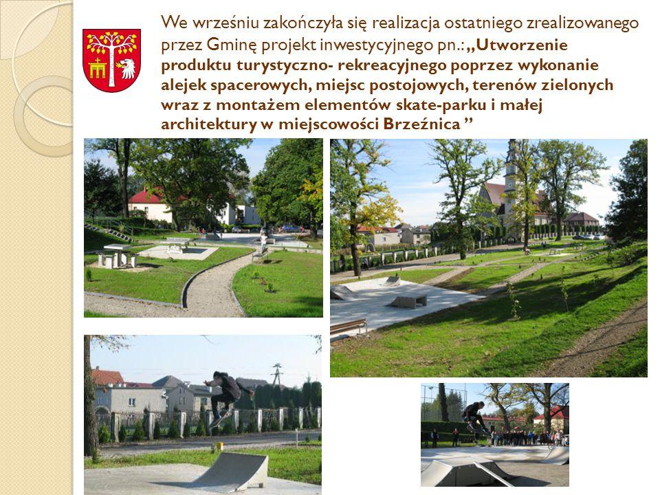 KOLEJNE PROJEKTY DO REALIZACJI Do końca bieżącego okresu finansowania środków unijnych zamierzamy zrealizować kolejne inwestycje na które złożyliśmy do LGD projekty w ostatnim wrześniowym naborze Lp.Nazwa wniosku 1 Poprawa standardu budynku użyteczności publicznej poprzez remont Domu Ludowego w Nowych Dworach (realizacja rozpoczęta) 2 Modernizacja budynku Centrum Kultury i Promocji w Brzeźnicy 3 Budowa ogólnodostępnego placu zabaw w miejscowości Sosnowice 4 Remont budynku komunalnego pełniącego funkcję społeczno – kulturalne w miejscowości Łączany 5 Zagospodarowanie przestrzeni publicznej w centrum miejscowości Paszkówka poprzez remont parkingu przy budynku Domu Kultury * W ramach małych projektów planowana realizacja działania pn.: Promocja lokalnego dziedzictwa kulturowego i historycznego Doliny Karpia za pomocą systemu wystawienniczego i tablicy interaktywnej planuje się zakup zewnętrznego systemu wystawienniczego wraz z projektem graficznym i drukiem plansz wystawienniczych, zakup tablicy interaktywnej oraz przygotowanie materiałów wystawienniczych i prezentacji multimedialnych nt.