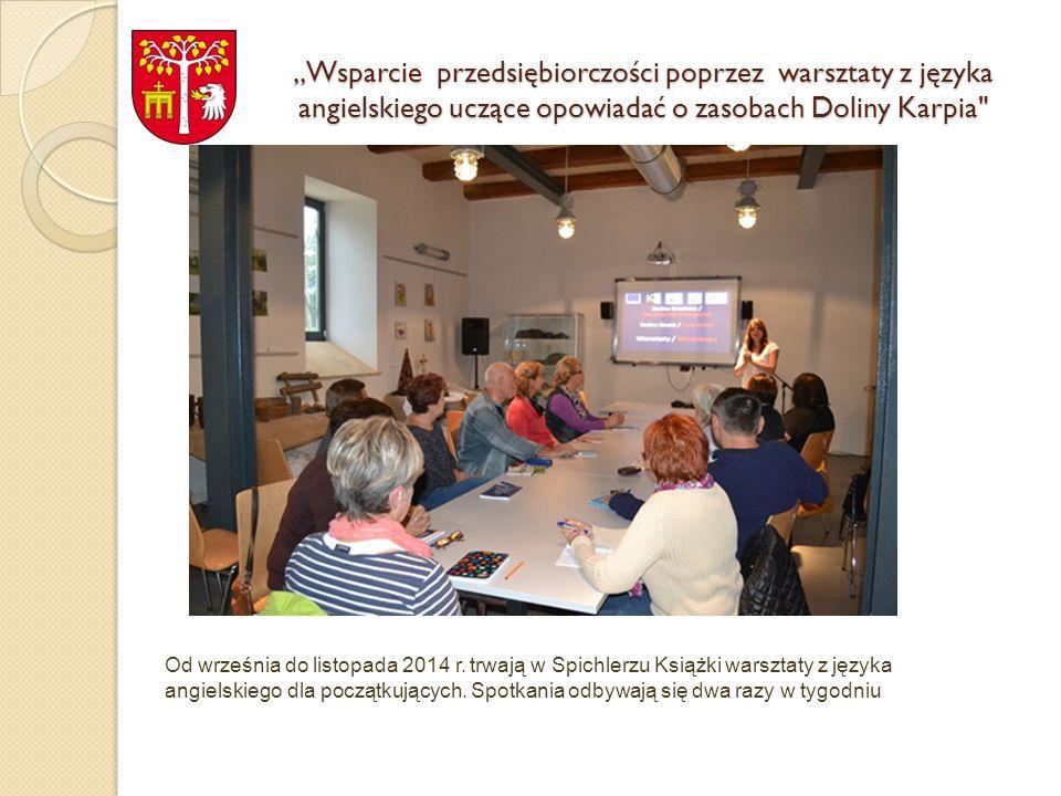 Wydanie publikacji z opracowaniami historycznymi na temat gminy Brzeźnica i Doliny Karpia I etap - Konferencja była zapowiedzią i formą promocji treści przygotowywanej do wydania publikacji, która ukaże się na początku grudnia br.