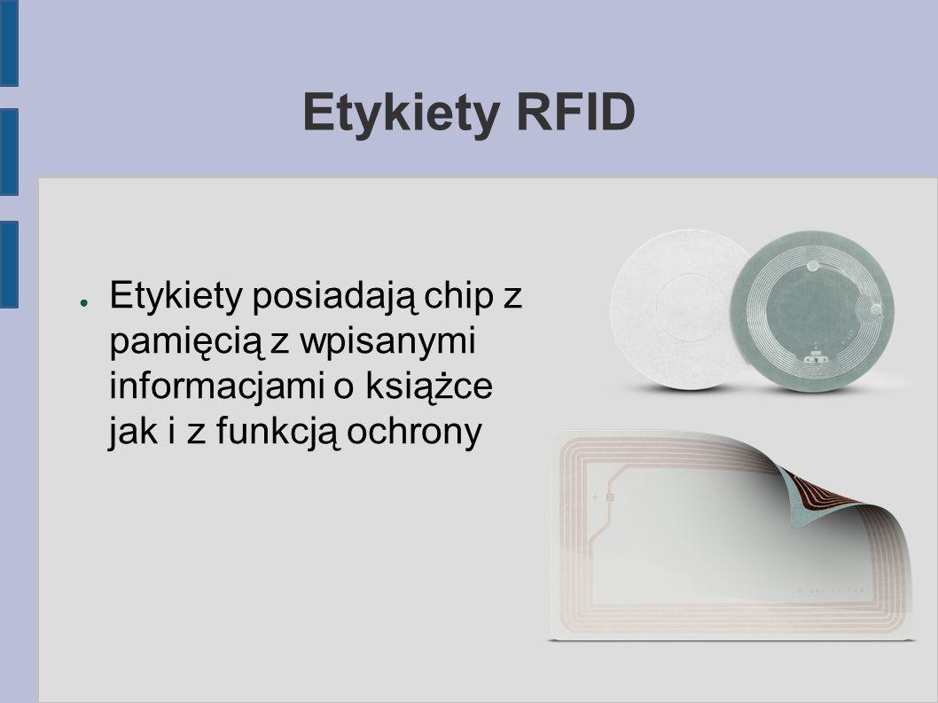 Wypożyczanie i zwroty RFID ● Przyspieszenie procesów poprzez sczytywanie kilku pozycji książkowych jednocześnie