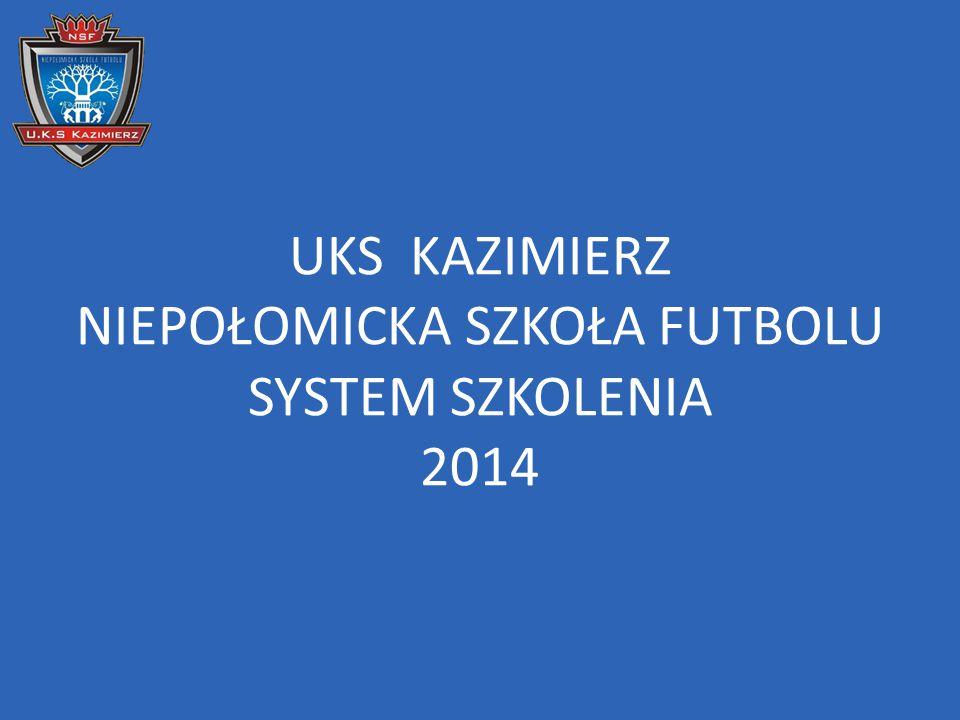 UKS KAZIMIERZ NIEPOŁOMICKA SZKOŁA FUTBOLU SYSTEM SZKOLENIA 2014