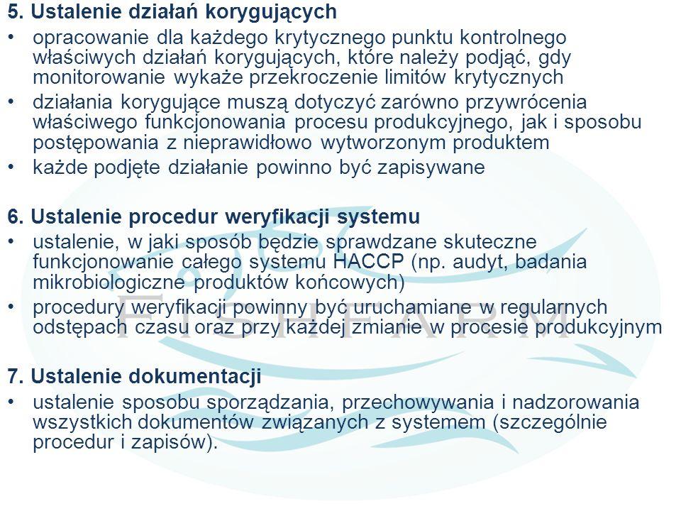 Krytyczne punkty kontroli (CCP), które zostały zidentyfikowane w hodowli ryb:  Jakość świeżej wody (chemiczna i mikrobiologiczna)  Składniki pasz naddające się do karmienia ryb  Związki chemiczne takie jak leki, substancje chemiczne niezbędne do leczenia chorób  Nawozy wykorzystywane do nawożenia stawów W celu uniknięcia zagrożenia, używany nawóz powinien być kontrolowany.