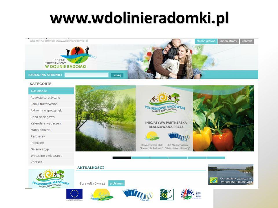 www.wdolinieradomki.pl