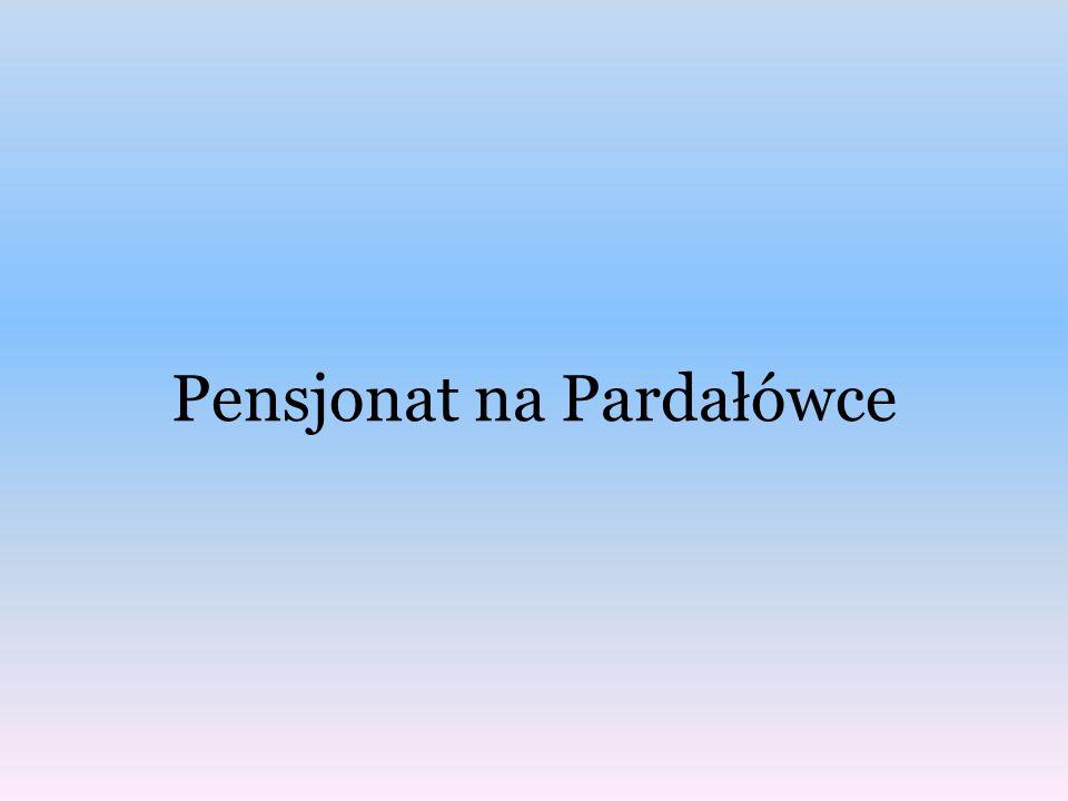 Pensjonat na Pardałówce