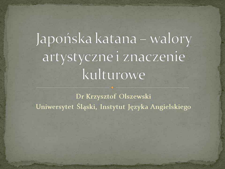 Dr Krzysztof Olszewski Uniwersytet Śląski, Instytut Języka Angielskiego