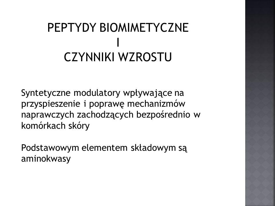 PEPTYDY Zbudowane są z kilku do kilkudziesięciu reszta aminokwasowych połączonych ze sobą wiązaniem peptydowym
