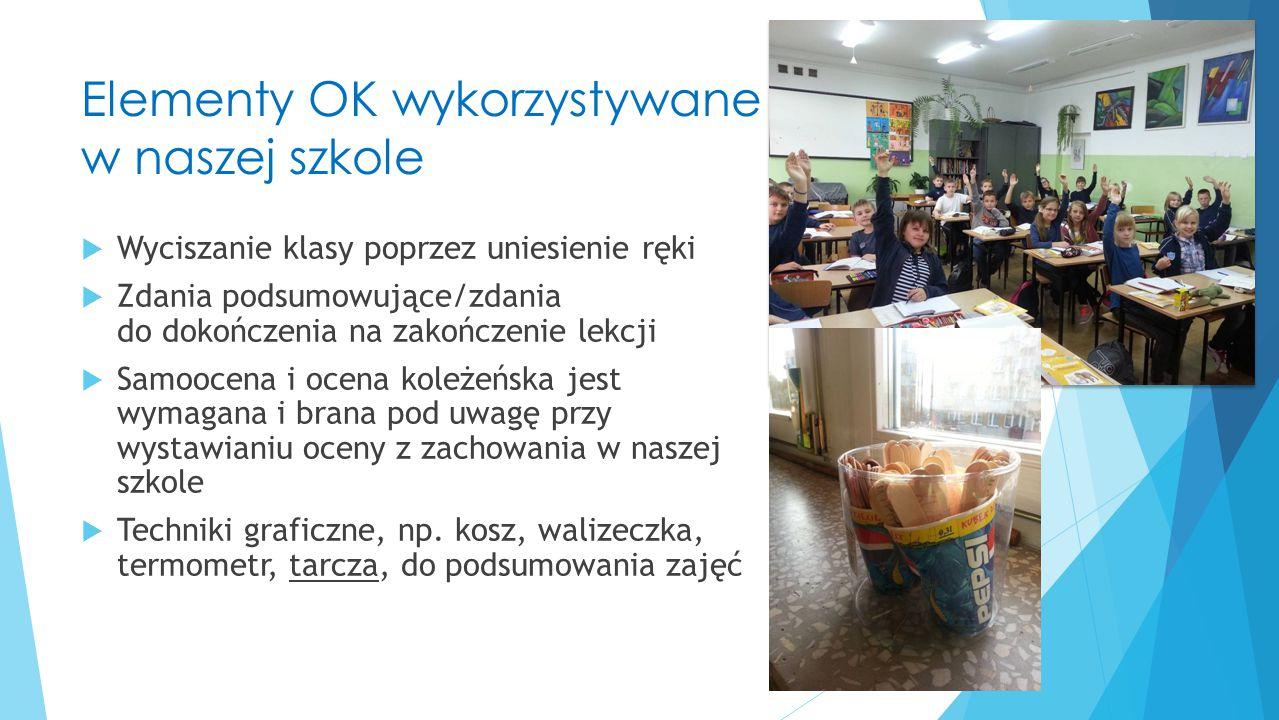 Dziękujemy za uwagę Dobre praktyki Ok w SP3 w Ełku, Joanna Witkowska Ełk