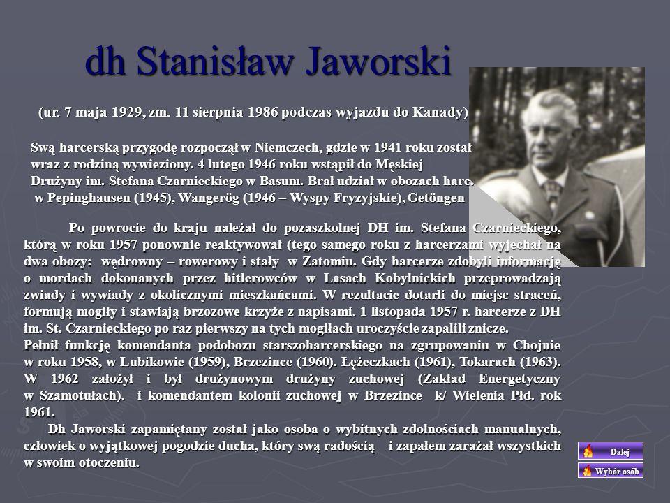 dh Maksymilian Ciężki (urodził się 24 listopada 1898 w Szamotułach) Podstawowe wykształcenie uzyskał w Szamotułach, kończąc Szkołę Rolniczą.