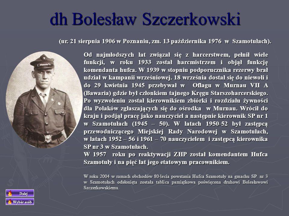 (ur. 30 stycznia 1947 r. w Szamotułach, zm. 28 listopada 2010 r.) Była nauczycielką i instruktorką Związku Harcerstwa Polskiego. Zdobywała kolejno sto