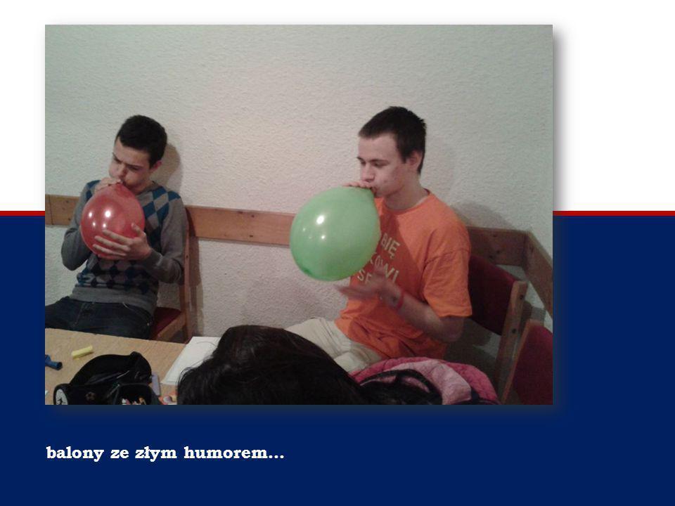 balony ze złym humorem…