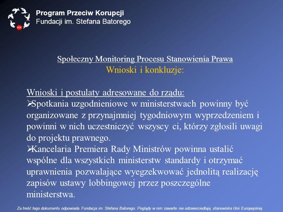 Program Przeciw Korupcji Fundacji im.