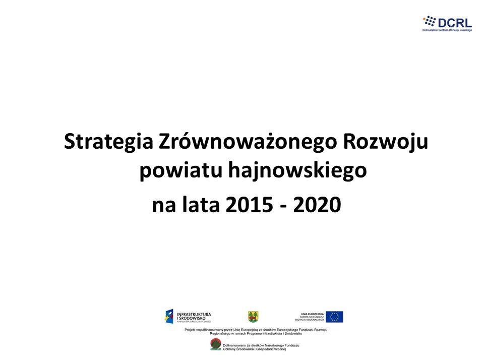 ZAGROŻENIA niespójna polityka zagraniczna względem Republiki Białoruskiej wzrost napięć narodowościowych, nacjonalistycznych/ niestabilna sytuacja bezpieczeństwa narodowego brak prawnych uregulowań współpracy transgranicznej niekorzystne zewnętrzne kierunki ochrony przyrody obywatelski projekt nowelizacji ustawy ochrony przyrody rosnąca aktywność organizacji ekologicznych traktowana jako przeszkoda w realizacji przedsięwzięć gospodarczych niedostateczne zrównoważenie gospodarki leśnej wzrost przestępczości, nielegalnego zatrudnienia, emigracji nieprzemyślane inwestycje w regionie, które zagrożą wartościom przyrodniczym i kulturowym zmiany w zasadach wsparcia finansowego w ramach środków zewnętrznych (programy pomocowe do 2020 roku) intensyfikacja procesów ubożenia i wyludniania się nieracjonalność polityki ochrony środowiska (zagrożenie przyrody, ludzi, gospodarki) dalszy brak wspólnego stanowiska samorządów wobec Puszczy Białowieskiej zmniejszenie konkurencyjności przemysłu drzewnego (decyzje zewnętrzne)