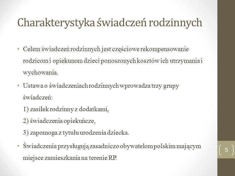 Zakres podmiotowy Obywatele polscy Cudzoziemcy, do których mają zastosowanie przepisach o koordynacji systemów zabezpieczenia społecznego Cudzoziemcy przebywający na terytorium RP na podstawie zezwolenia na osiedlenie się, zezwolenia na pobyt rezydenta długoterminowego WE, zezwolenia na zamieszkanie na czas oznaczony.