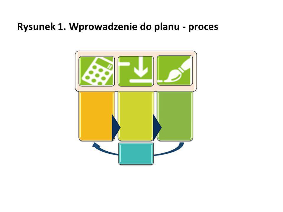 Rysunek 1. Wprowadzenie do planu - proces