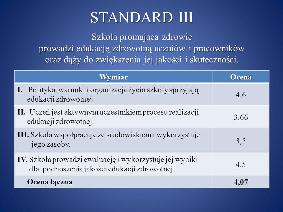 STANDARD III