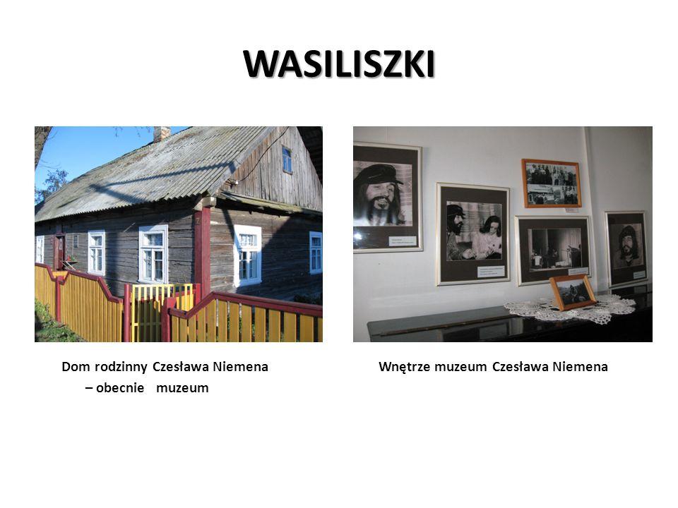 WASILISZKI Dom rodzinny Czesława Niemena Wnętrze muzeum Czesława Niemena – obecnie muzeum