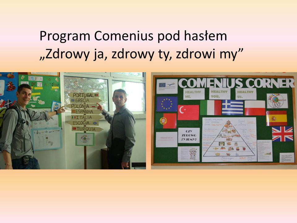 """Program Comenius pod hasłem """"Zdrowy ja, zdrowy ty, zdrowi my"""