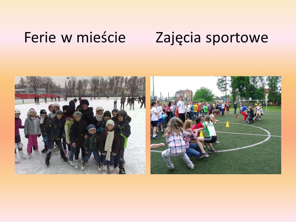 Ferie w mieścieZajęcia sportowe