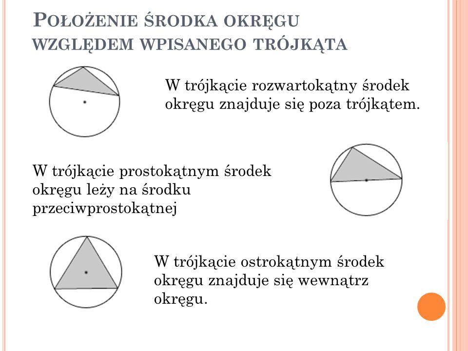 S ZEŚCIOKĄT FOREMNY Aby skonstruować sześciokąt foremny należy wyznaczyć promień okręgu, w który ten sześciokąt ma być wpisany.