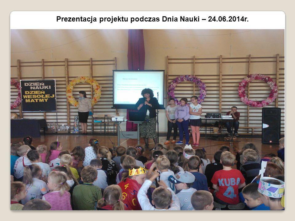 Prezentacja projektu podczas Dnia Nauki – 24.06.2014r.