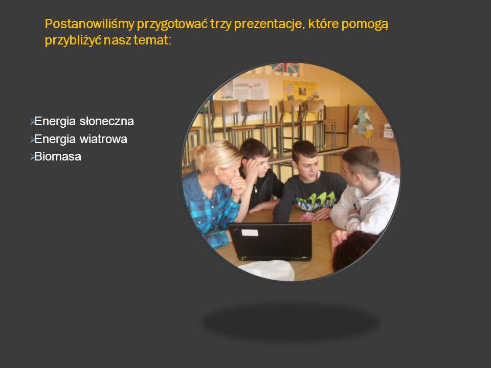 Ostatnim zadaniem jakie wykonaliśmy było przeprowadzenie zajęć wśród starszych kolegów i koleżanek naszej szkoły.