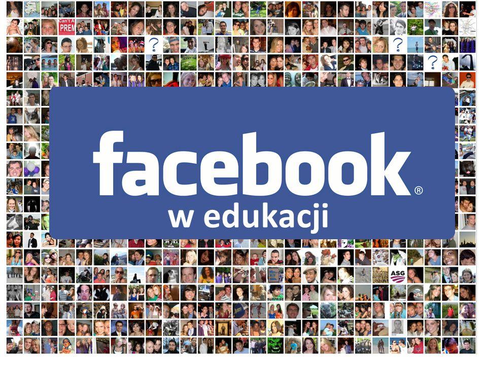 Facebóg Serwis społecznościowy Nr 1 Najczęściej odwiedzana strona internetowa Nr 2 800 mln użytkowników 7,5 mln Polaków na Facebooku Codziennie na FB 50% użytkowników