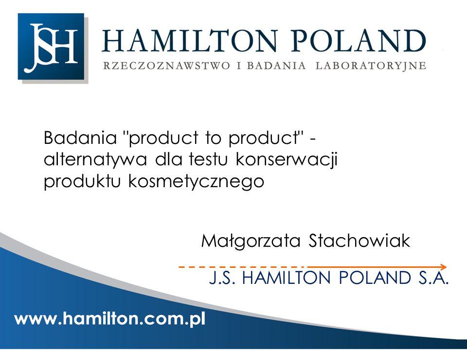 J.S. HAMILTON POLAND S.A. Badania