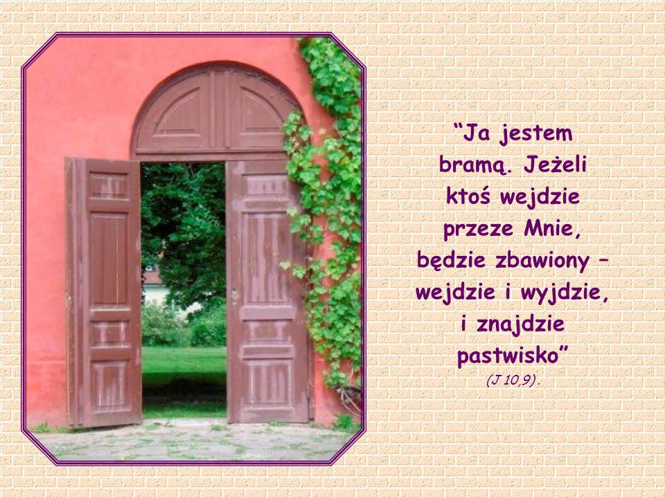 Jezus Opuszczony na krzyżu jest tą bramą, przez którą dokonuje się najdoskonalsza wymiana między Bogiem a człowiekiem: stając się nicością, jednoczy dzieci z Ojcem.