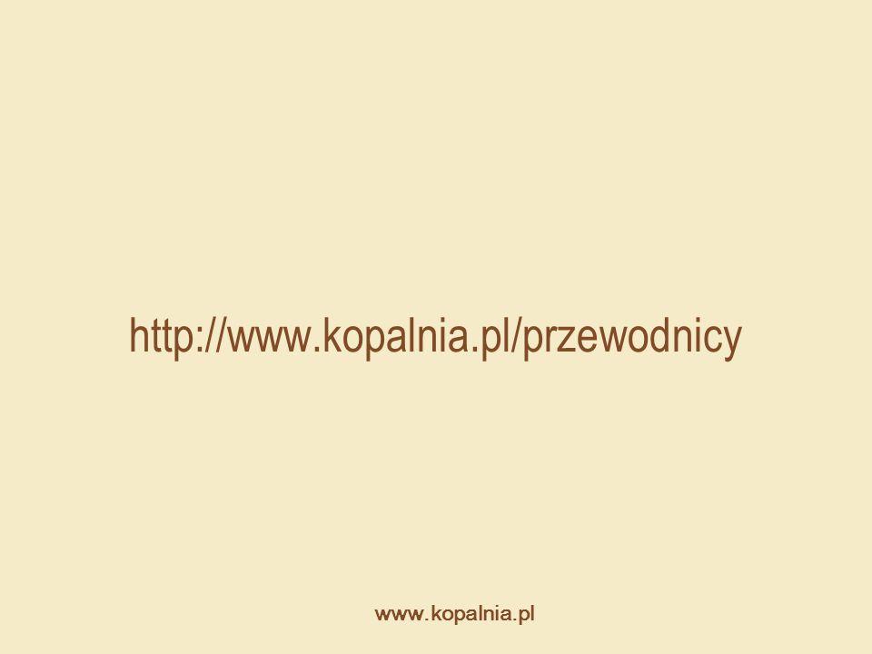www.kopalnia.pl http://www.kopalnia.pl/przewodnicy