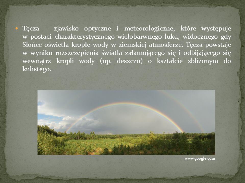 Ciemny fragment nieba leżący pomiędzy obydwiema tęczami jest określany mianem pasa Aleksandra, od imienia Aleksandra z Afrodyzji, który pierwszy opisał to zjawisko.