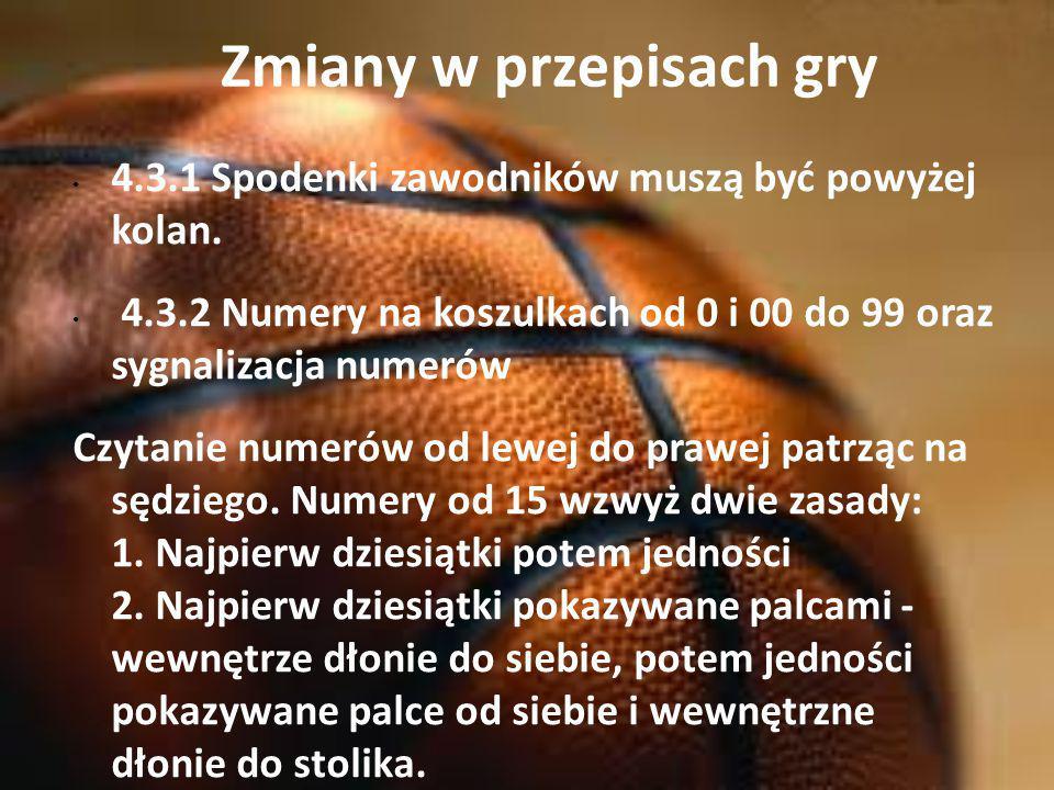 Zmiany w przepisach gry Mechanika - Jeśli zawodnik opóźnia zajęcie pozycji do wykonywania rz.w.