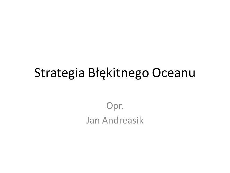 Strategia Błękitnego Oceanu Opr. Jan Andreasik