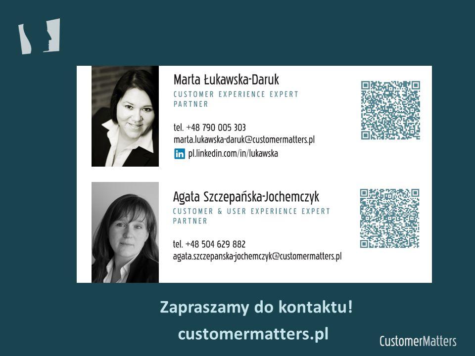 Zapraszamy do kontaktu! customermatters.pl