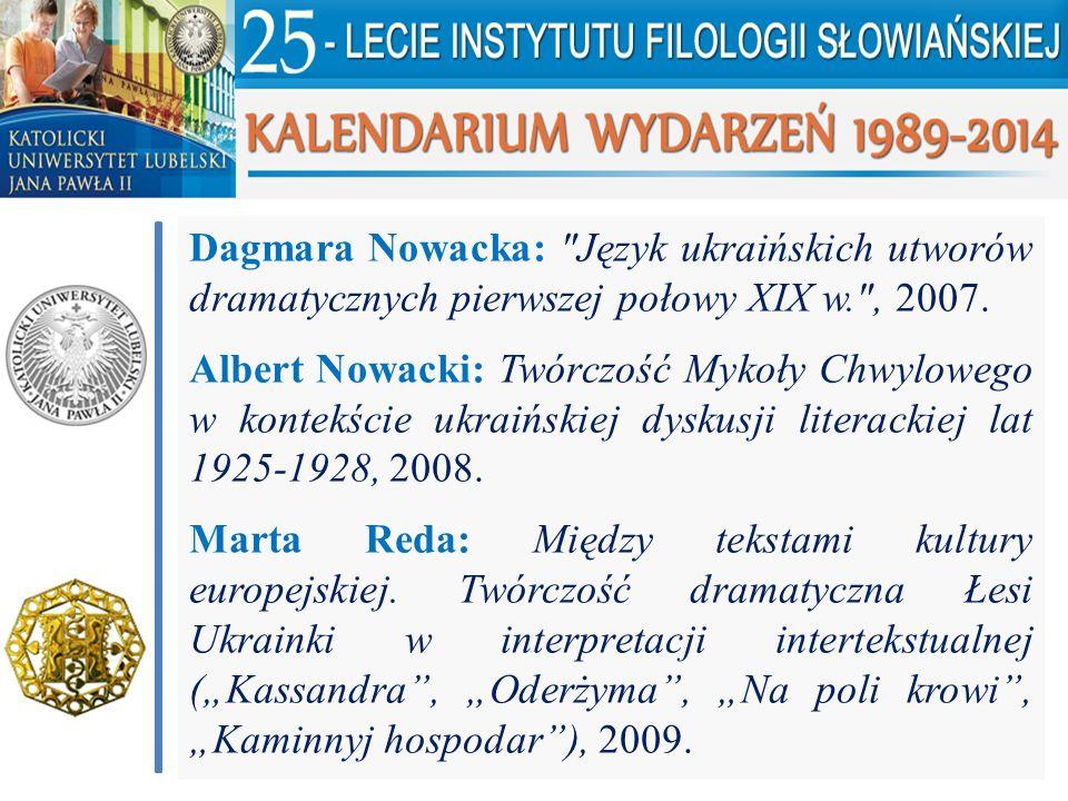 Dagmara Nowacka: