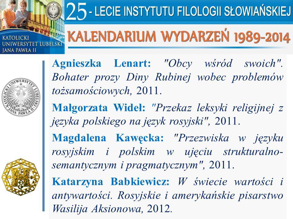 Agnieszka Lenart: