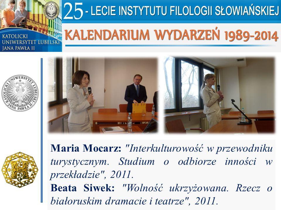 Maria Mocarz: