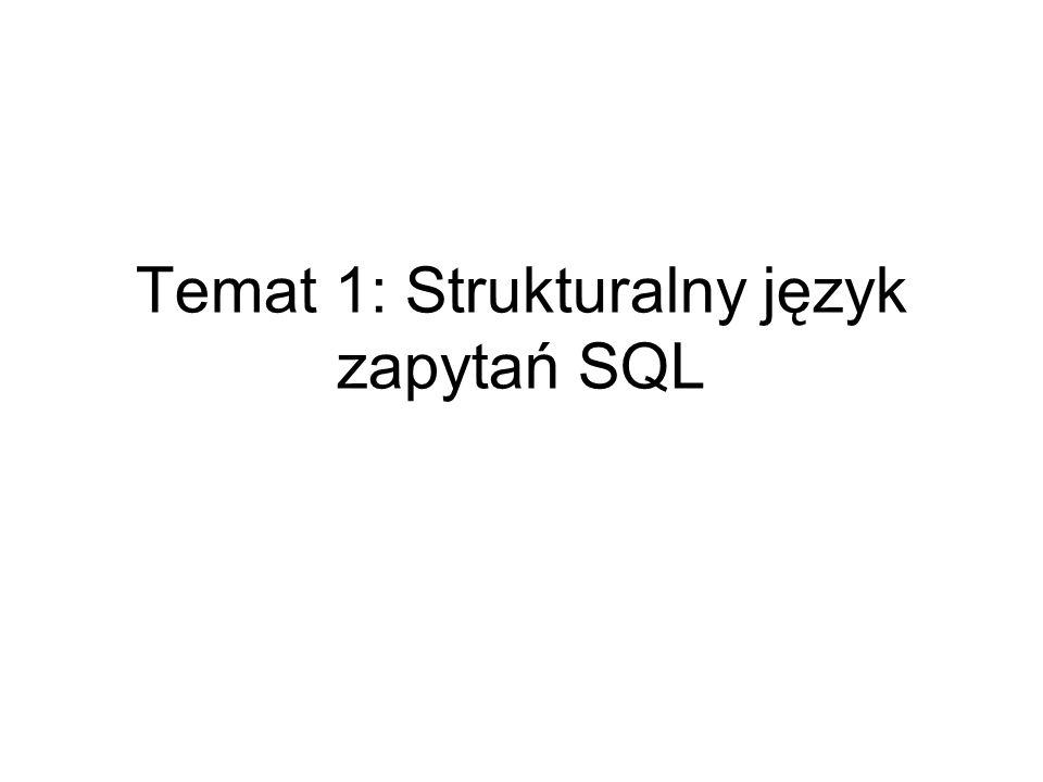 Początki SQL sięgają zeszłego stulecia i firmy IBM, w której powstał język SEQUEL.