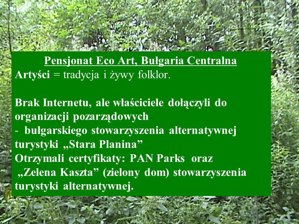 Pensjonat Eco Art, Bułgaria Centralna Artyści = tradycja i żywy folklor.