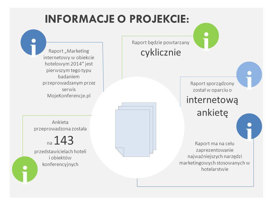 """Raport """"Marketing internetowy w obiekcie hotelowym 2014"""" jest pierwszym tego typu badaniem przeprowadzanym przez serwis MojeKonferencje.pl Raport będz"""