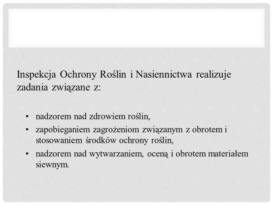 Zadania PIORiN określone są w: ustawie z dnia 18 grudnia 2003 r.