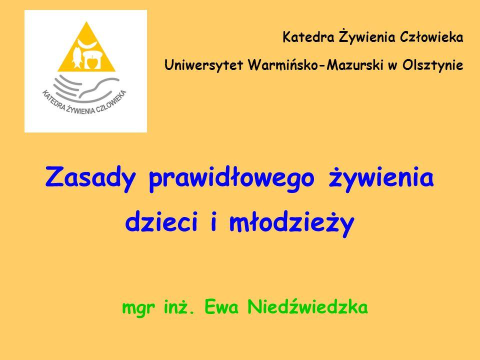 Aktualna sytuacja w zakresie wydawania obiadów w Polsce (2) Jakość żywienia w szkołach, które wydają obiady jest często niezadowalająca: jadłospisy są źle zbilansowane i nieprawidłowo zestawione, niektóre obiady nie zawierają dodatku warzyw, bywa, że nie jest podawany napój, uczniowie rzadko otrzymują owoce, jogurty, desery (np.