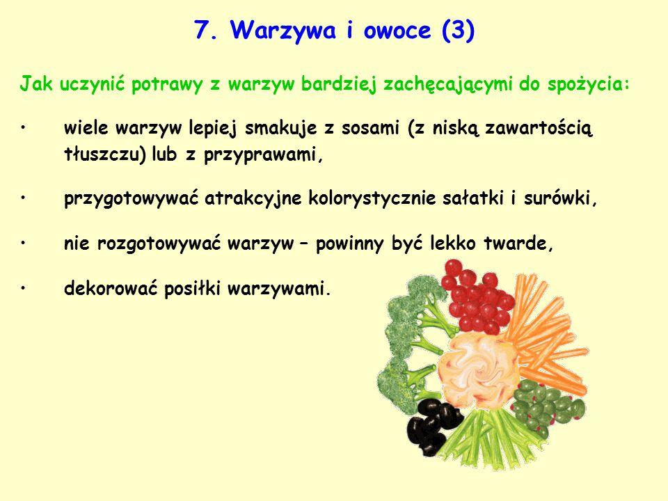 Jak uczynić potrawy z warzyw bardziej zachęcającymi do spożycia: wiele warzyw lepiej smakuje z sosami (z niską zawartością tłuszczu) lub z przyprawami