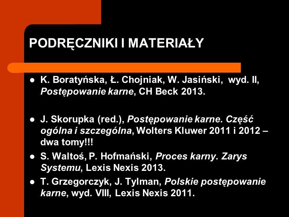 PODRĘCZNIKI I MATERIAŁY K.Boratyńska, Ł. Chojniak, W.